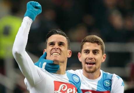 FT: Milan 1-2 Napoli