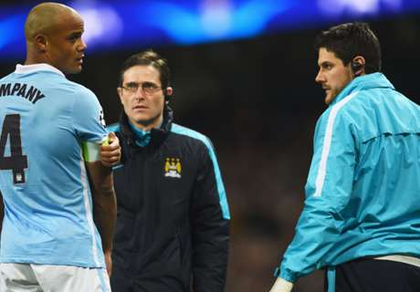 Zabaleta concerned by City injuries