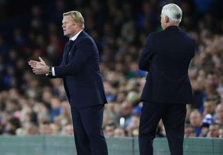 Koeman praises 'outstanding' Everton