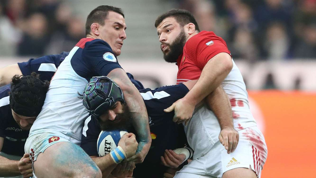 Scotland lose Strauss for rest of Six Nations