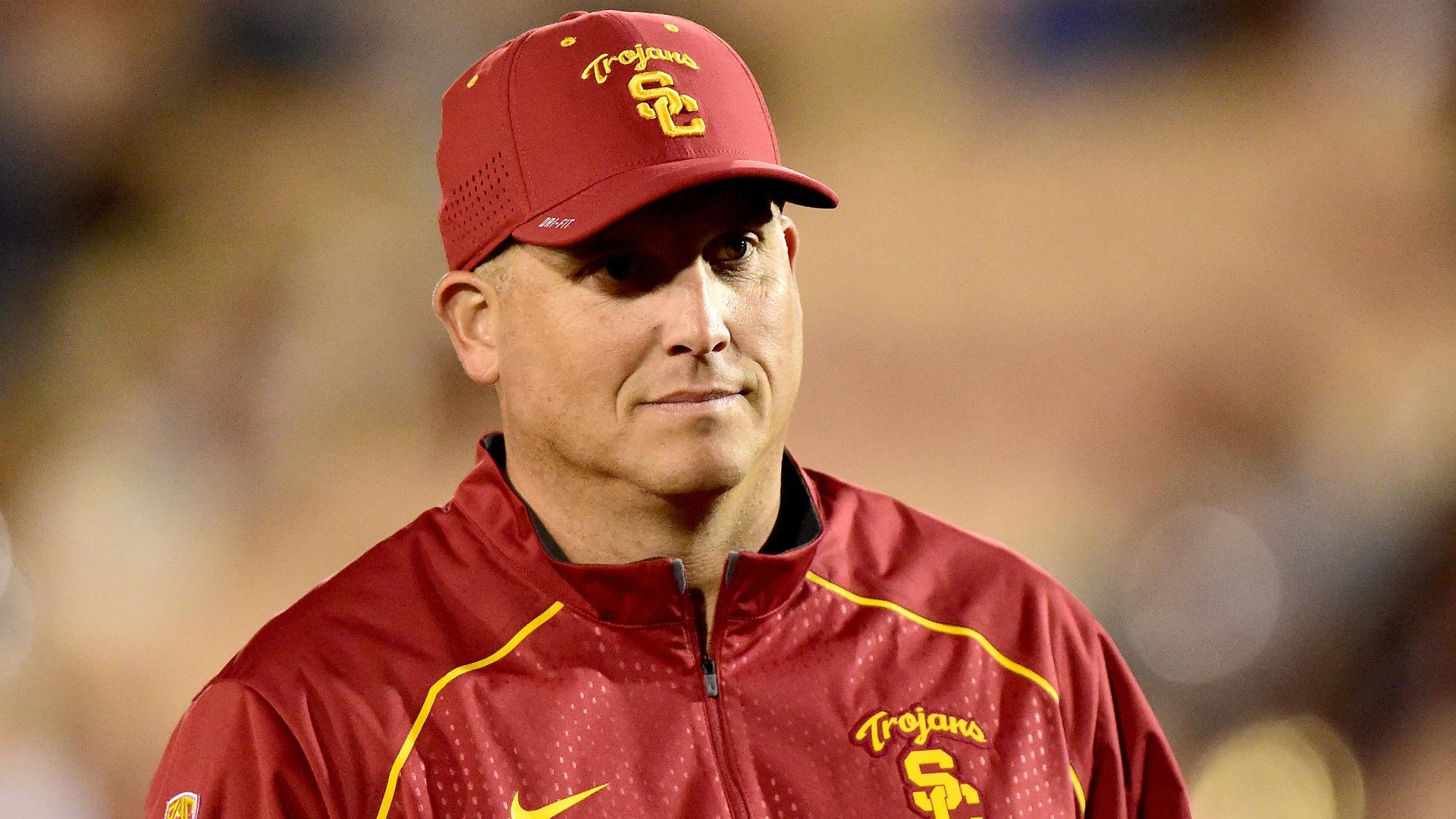 USC Extends Football Coach Clay Helton's Contract Through 2023