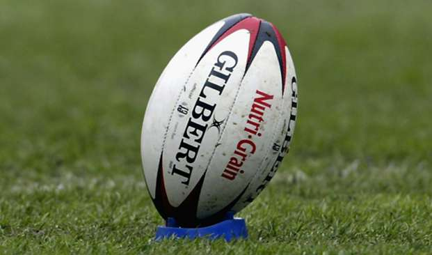 Rugby league ball view - cropped