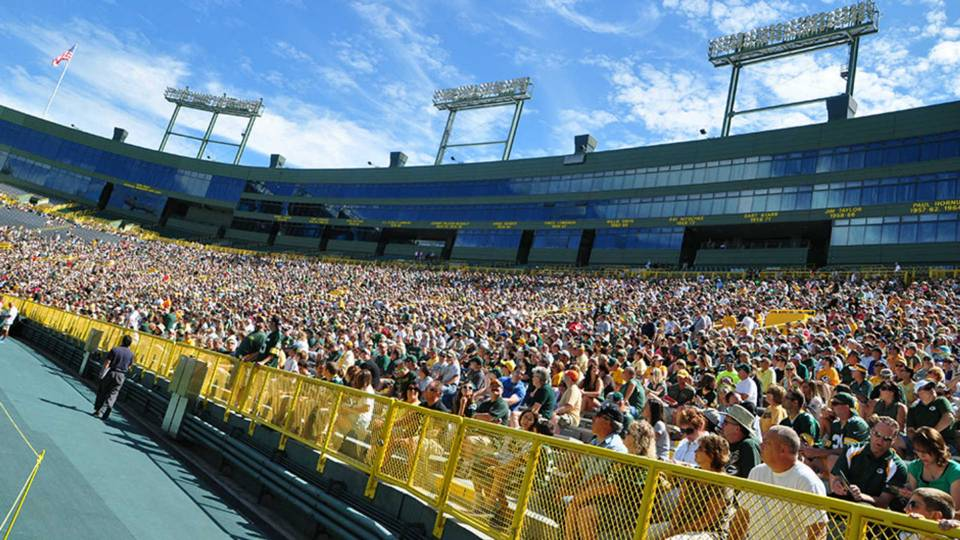 The Packers' 2015 shareholders meeting