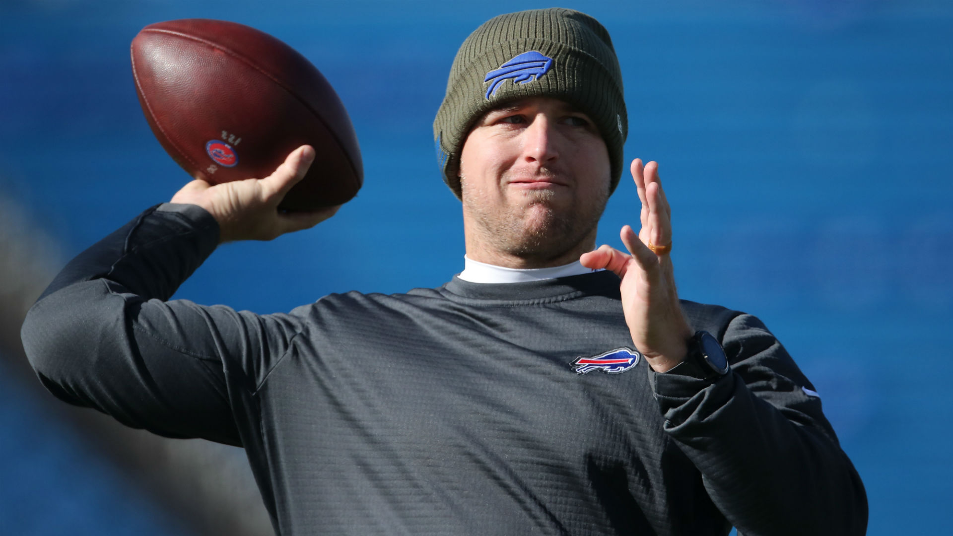Bills coach: QB Allen will regain starting job when healthy