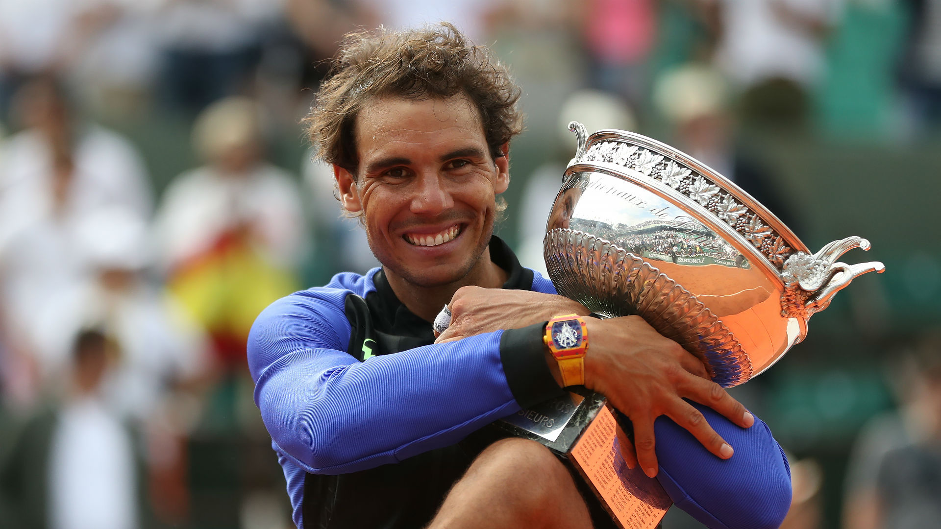 Rafael Nadal Image: French Open 2018 Draw: Rafael Nadal Opens Title Against
