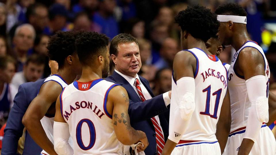 Coach Bill Self and Kansas
