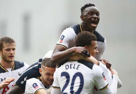 Tottenham avanza en la FA Cup