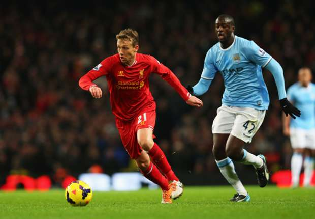 Liverpool struggle without Lucas