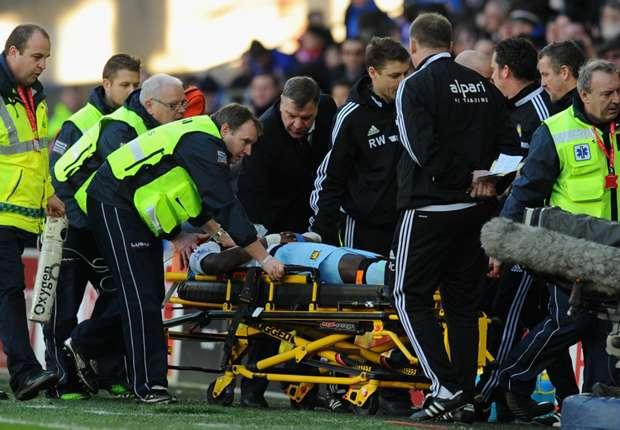 West Ham defender Demel can't recall Cardiff injury