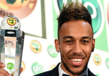 Aubameyang delighted with prize