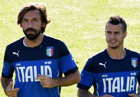 Pirlo & Giovinco out of Italy Euro squad