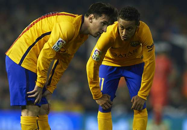 Rafinha: Neymar can't pip Messi to the Ballon d'Or ... yet