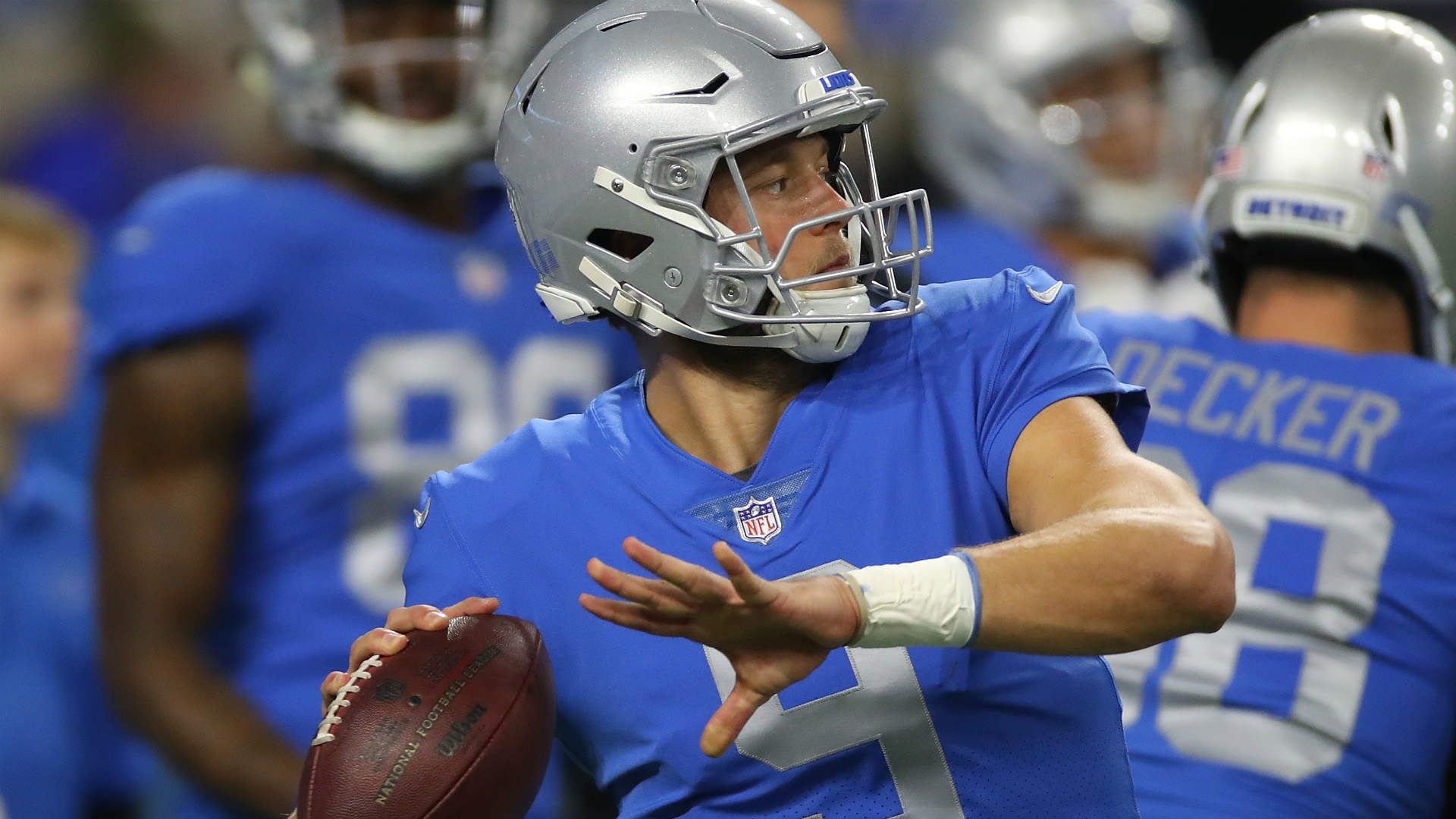 Matthew Stafford admits ankle isn t 100 percent after Lions loss
