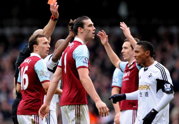 Carroll loses Chico red card appeal