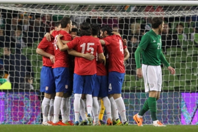 International Friendly: Republic of Ireland 1 Serbia 2