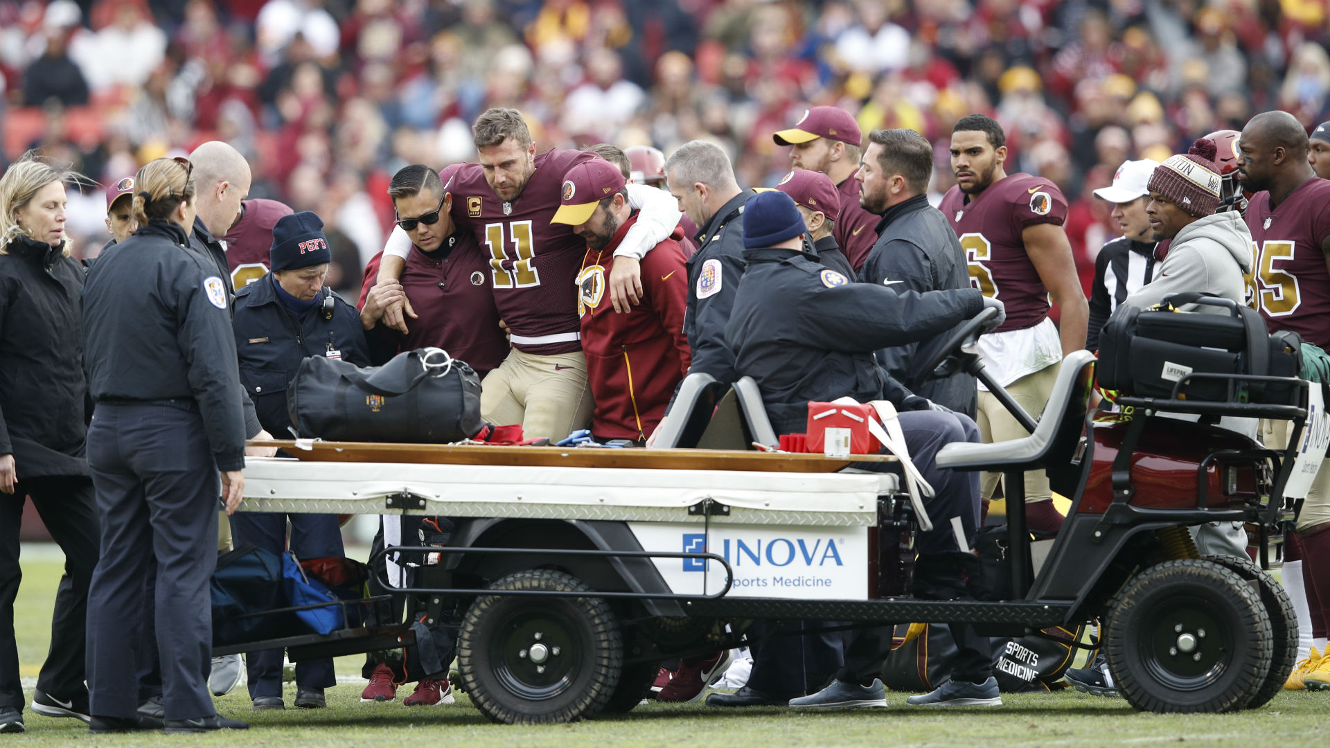 Alex Smith out of hospital after scary complications