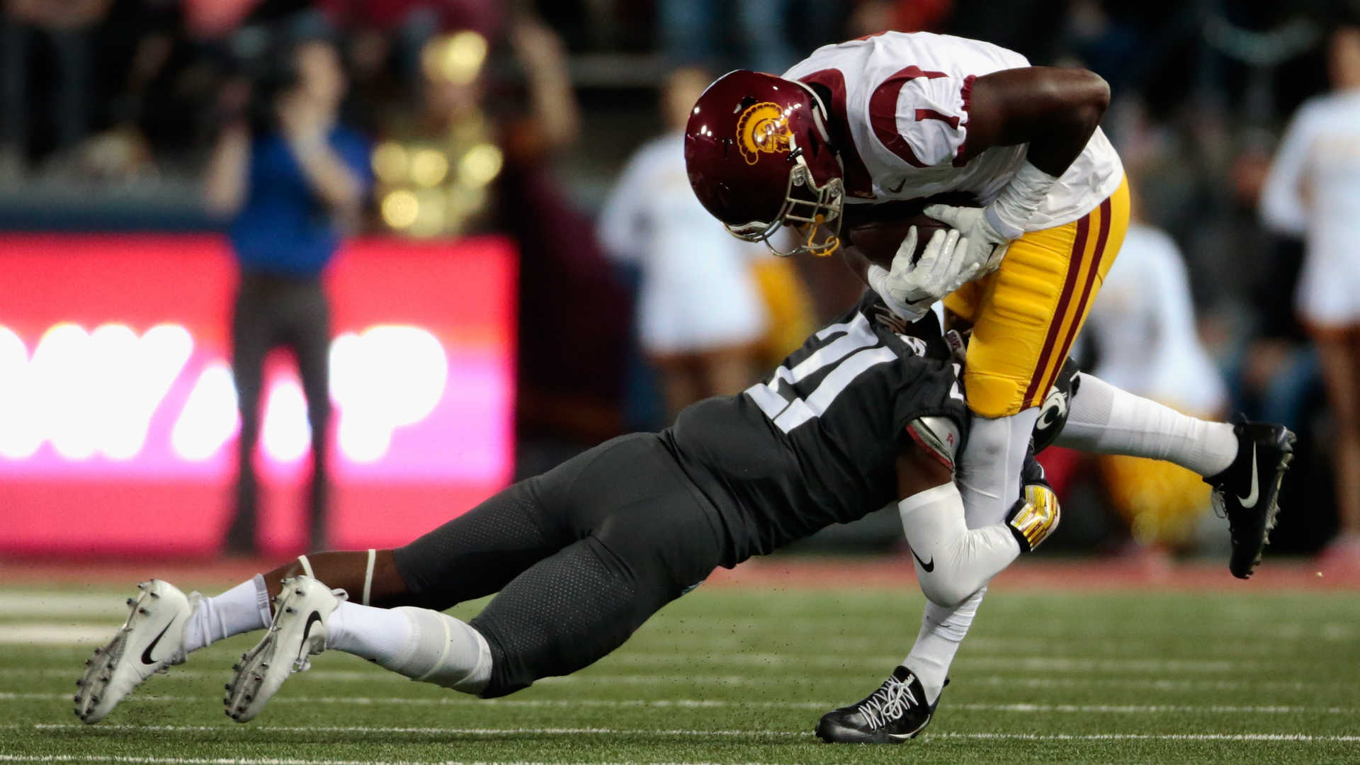 USC WR arrested for domestic violence for second time in five months