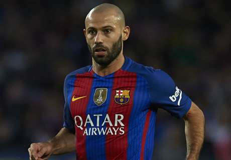 Mascherano returns to Barca squad