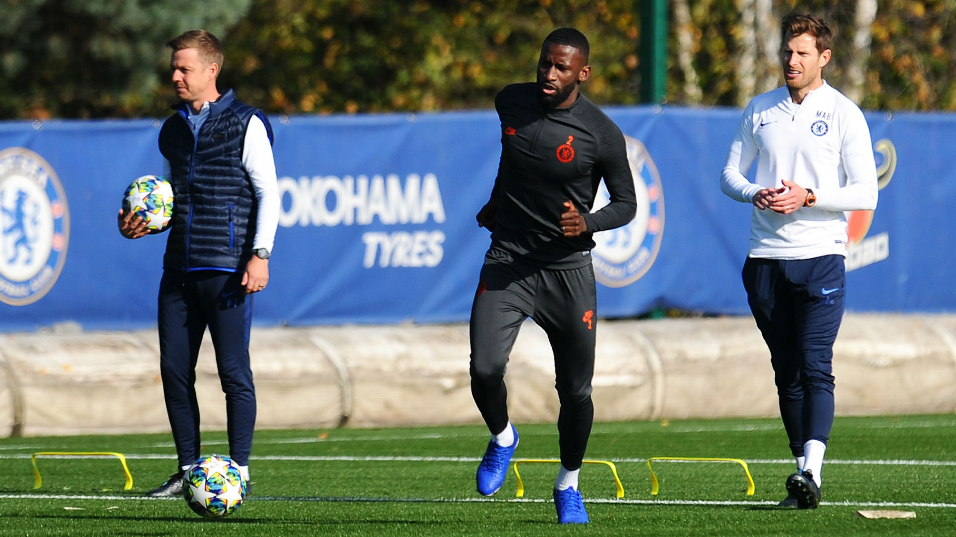 'Rudiger is going to see a consultant' - Lampard denies Chelsea defender is ready to return