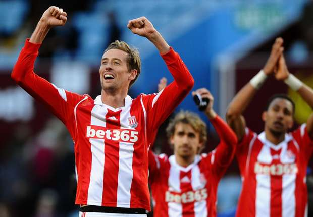 Borussia Monchengladbach 1-1 Stoke City: Crouch strike earns draw for Potters