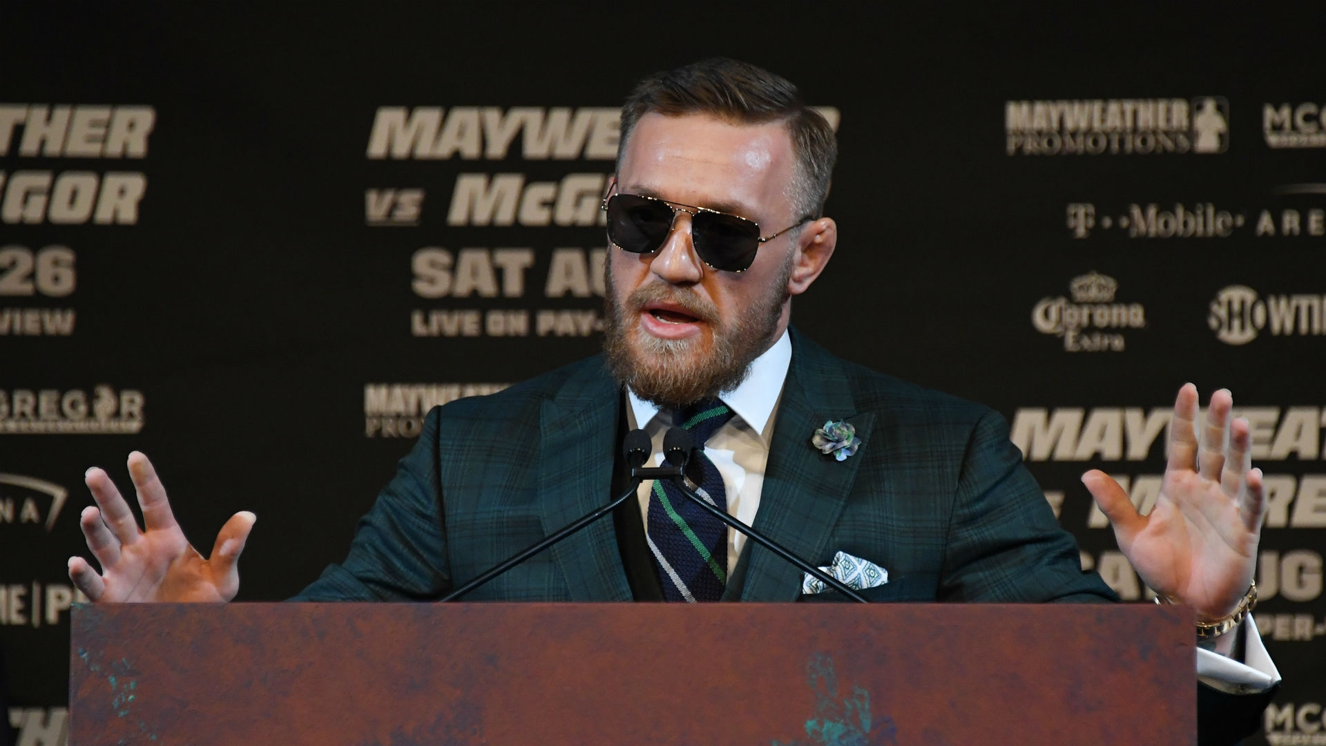 Video Shows View From Inside Bus As Conor McGregor Throws Dolly