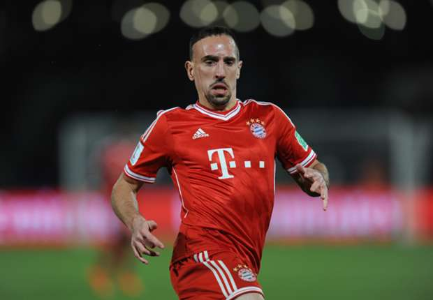 Ribery out of Arsenal clash