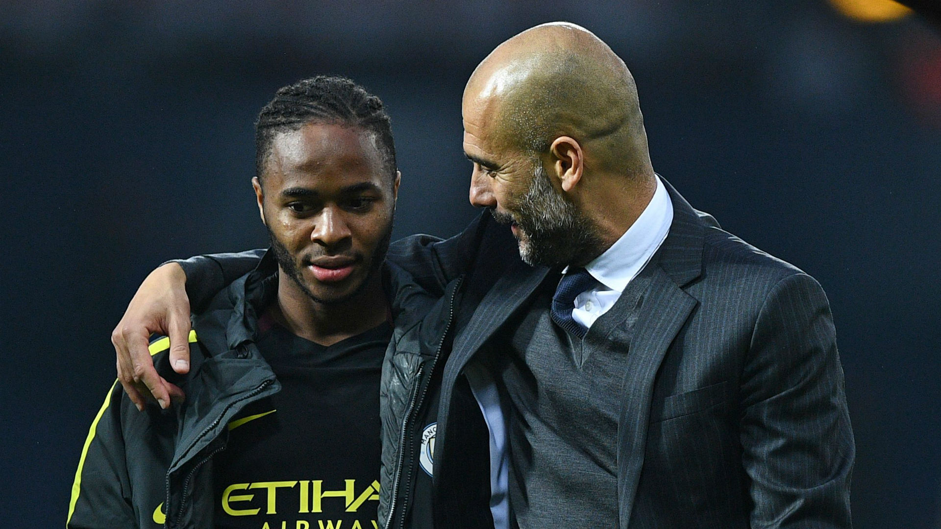 Guardiola Praises Sterling For Confronting Racism