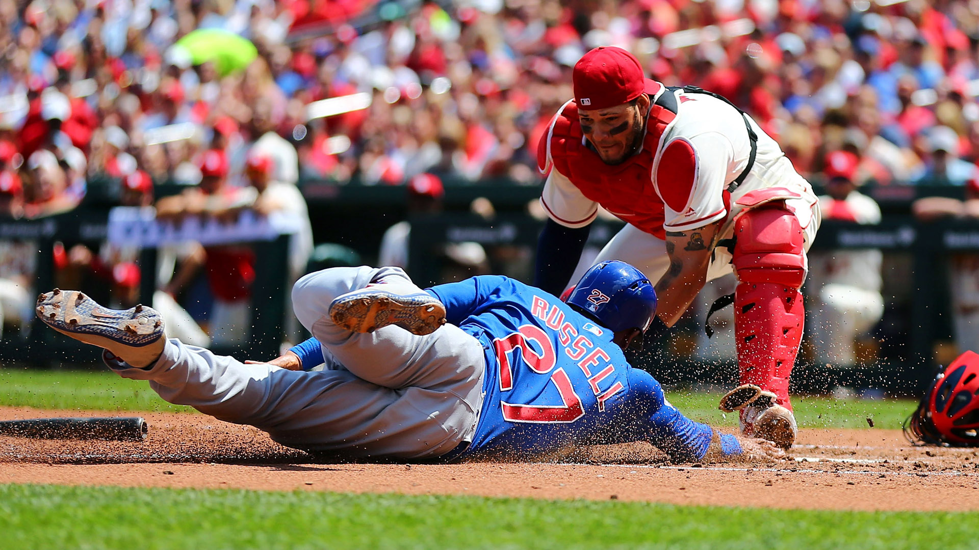 Cardinals Catcher Leaves Game After Getting Hit In Groin By Foul Ball