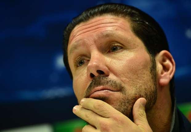"""Diego Simeone sigue con su """"partido a partido"""""""