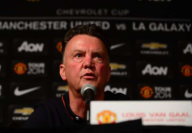 Van Gaal downplays Man Utd's need for transfers