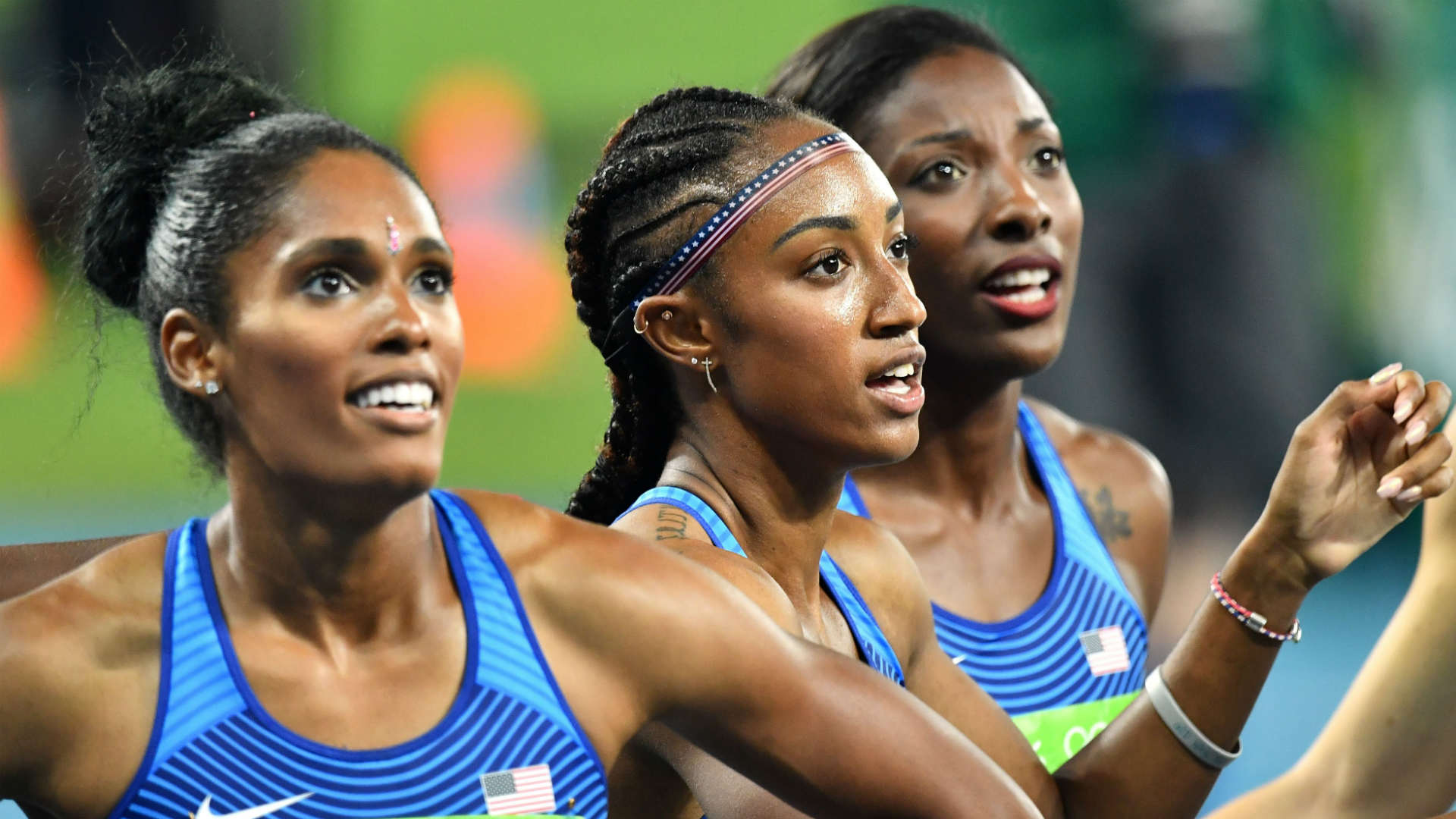 Brianna Rollins leads United States hurdles sweep at Rio 2016 Olympics