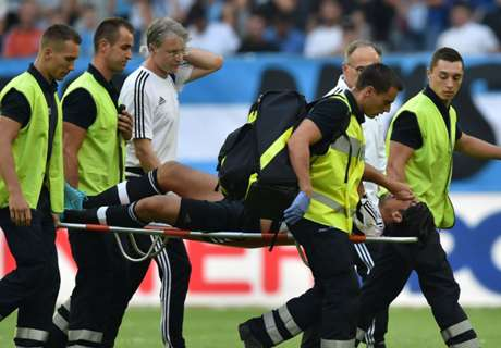 Khedira out injured for two months