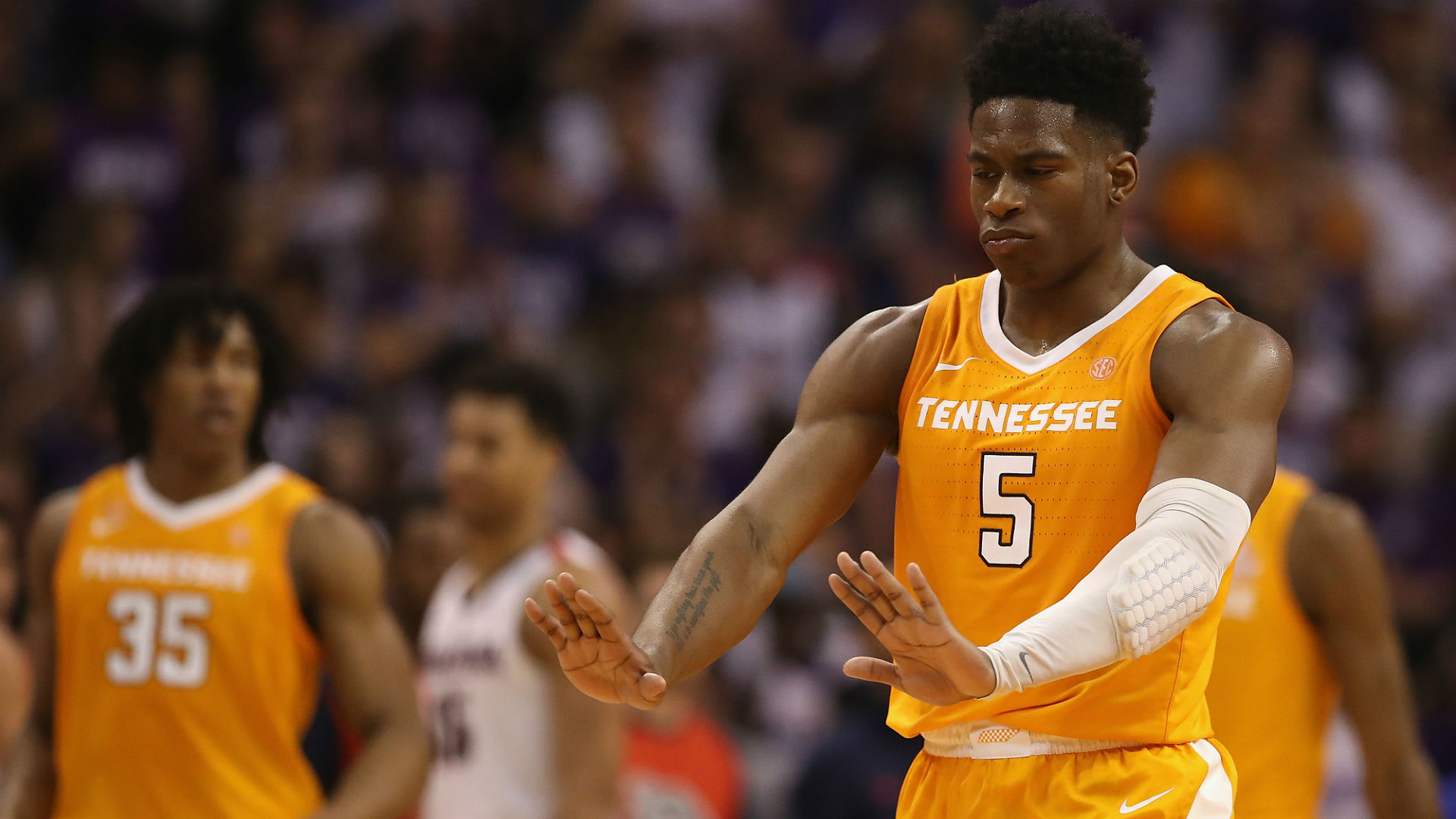 No. 7 Tennessee Upsets No. 1 Gonzaga in Thriller