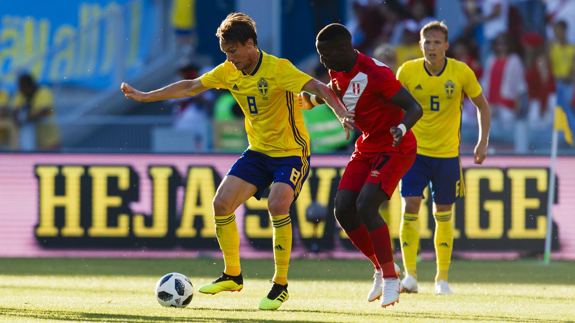 Swedens Albin Ekdal Getty Images