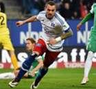 Hamburg 2-1 Bremen: Lasogga brace