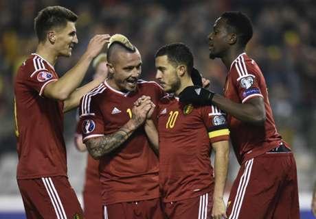 Belgium top Fifa world rankings
