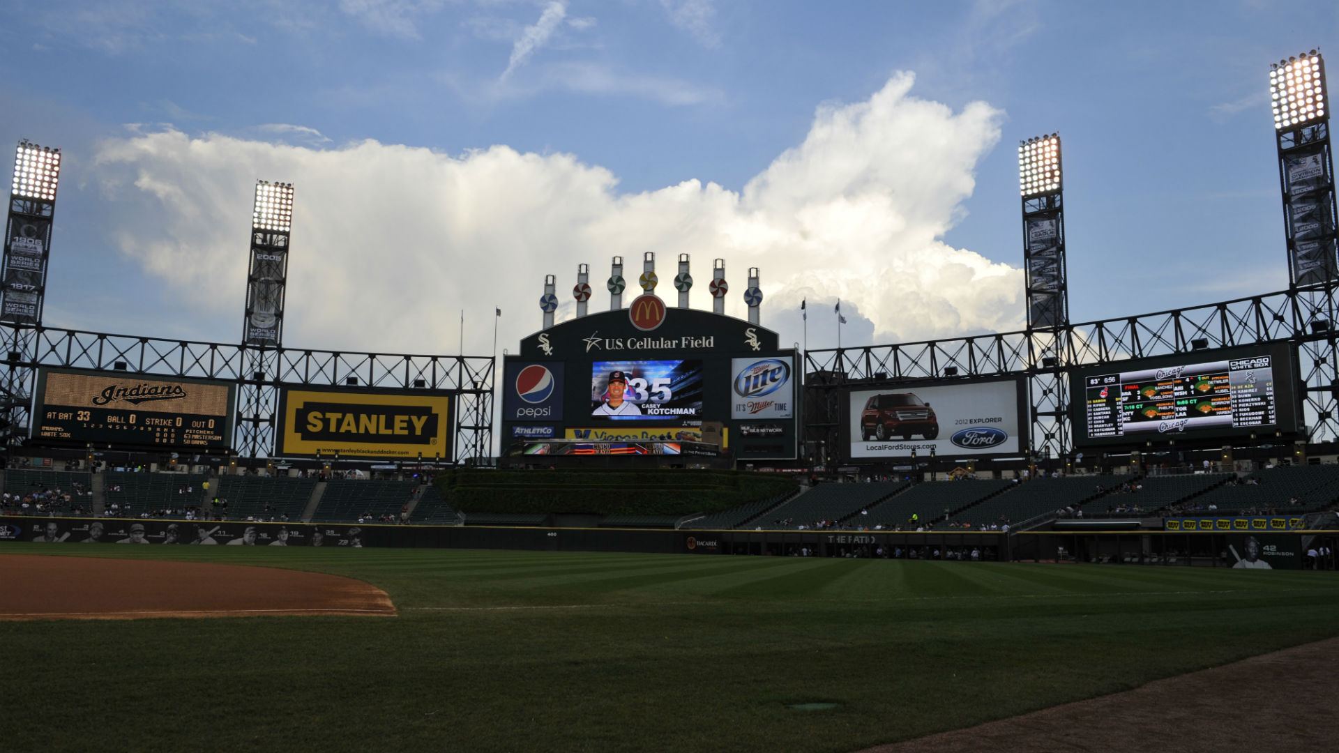 ... fire at U.S. Cellular Field won't delay White Sox's opener