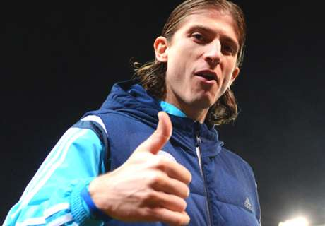 Filipe Luis plans to see out contract