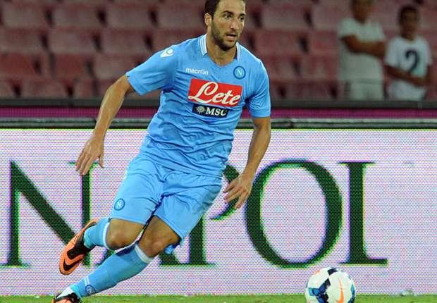 Gonzalo Higuaín, jugador del Napoli