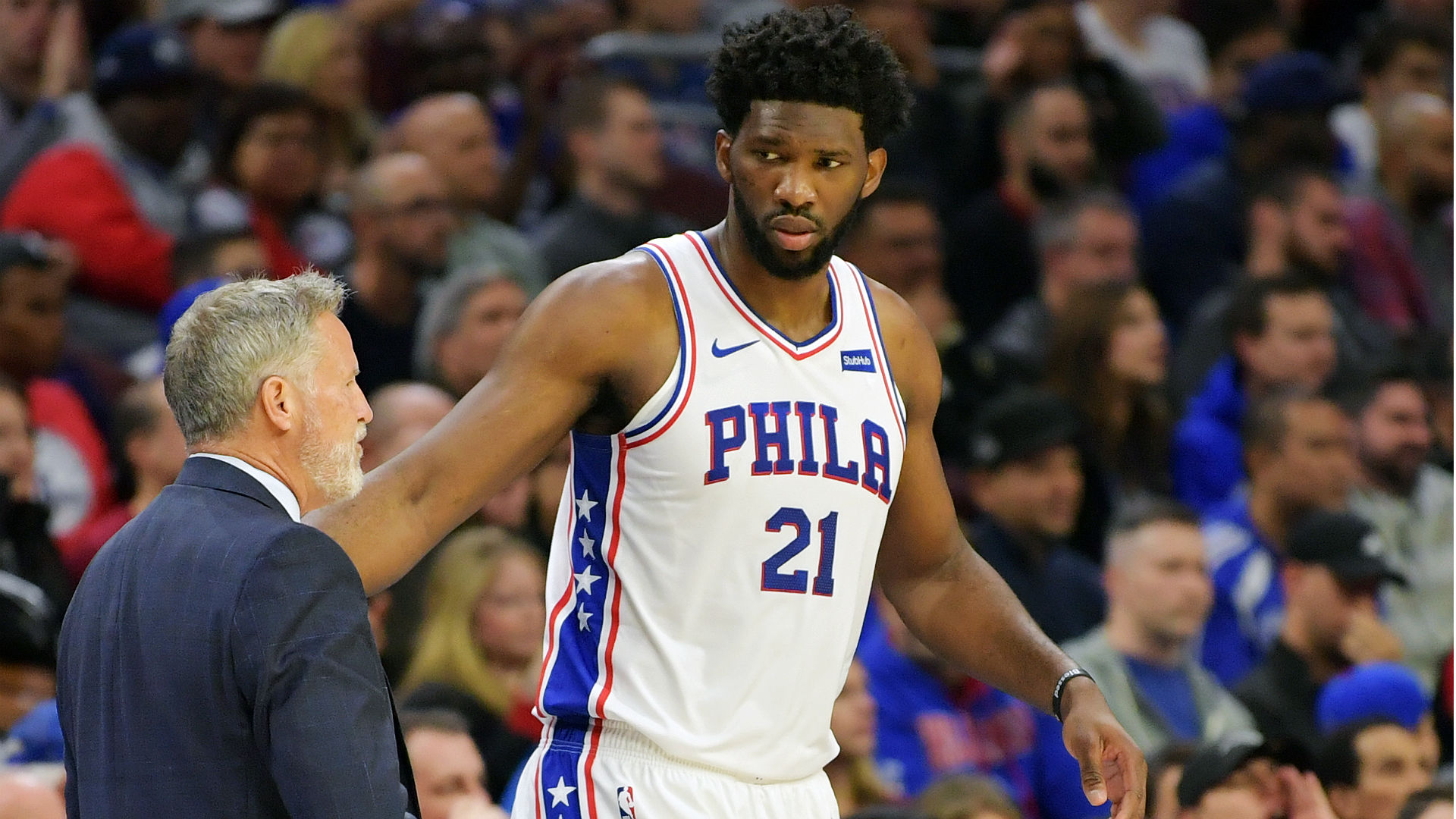 Joel Embiid injury update: 76ers star (back) questionable ...