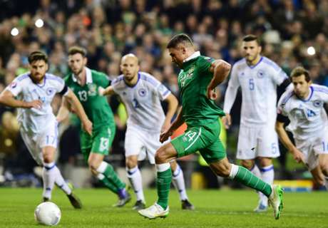 Ireland 2-0 Bosnia: Irish to Euro 2016