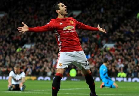 Mkhitaryan out to make Man Utd history
