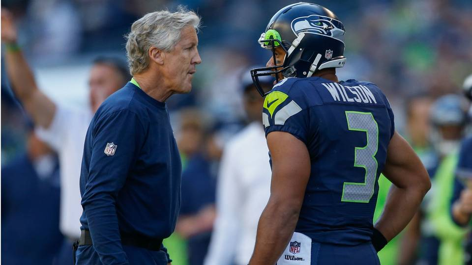 Seahawks coach Pete Carroll says Russell Wilson has been  over ... 4f9a0deb7