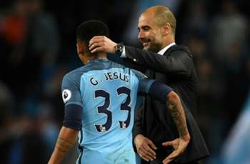 Guardiola rues missed opportunities for Aguero and Jesus partnership