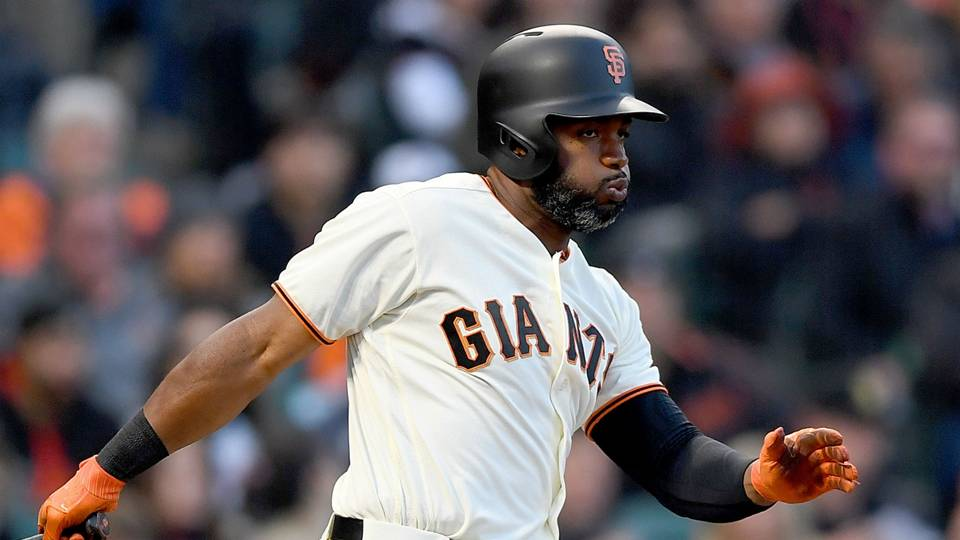 Giants Denard Span Races Around Bases For Inside The Park Home Run