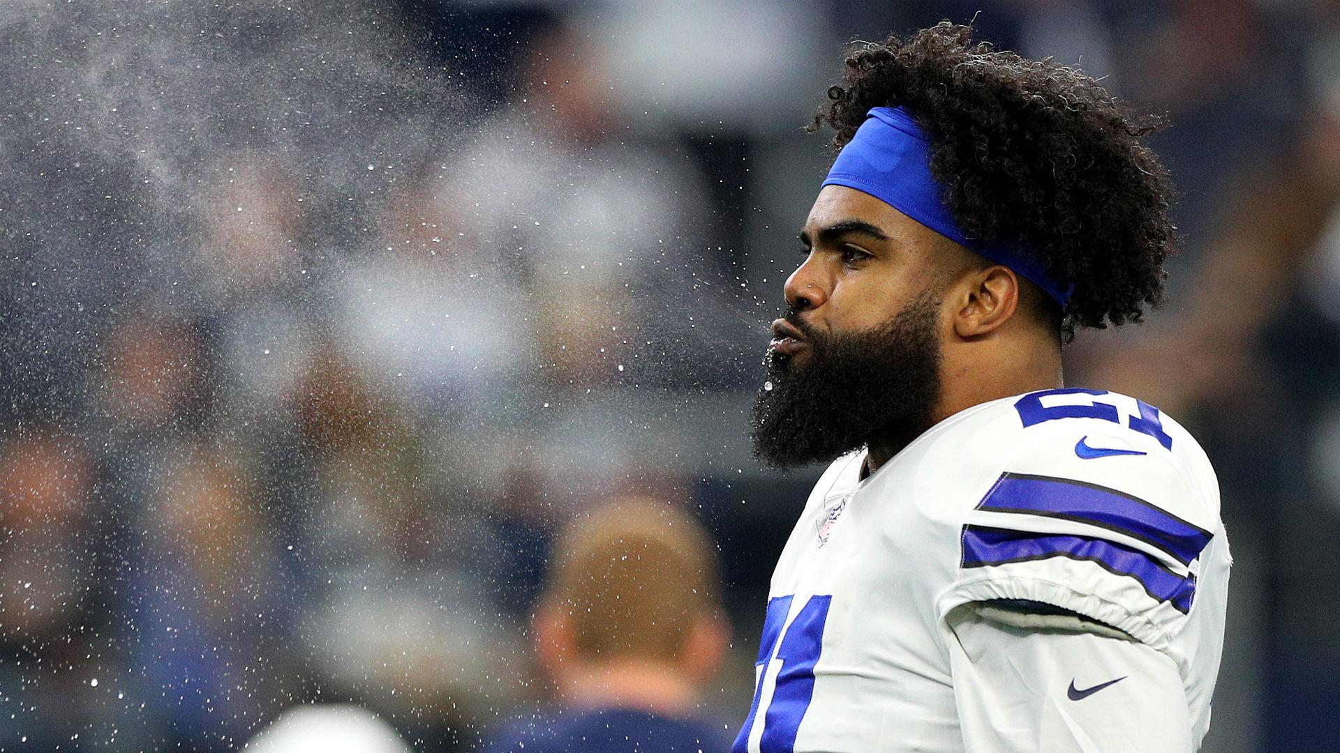 Dez Bryant defends Ezekiel Elliott's holdout, rips Cowboys
