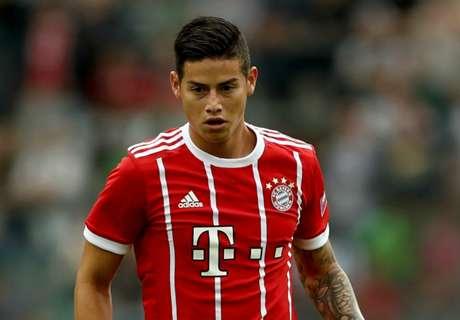 James, Tolisso make Bayern debuts