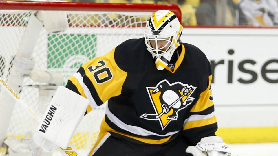 Penguins goalie Matt Murray diagnosed with concussion