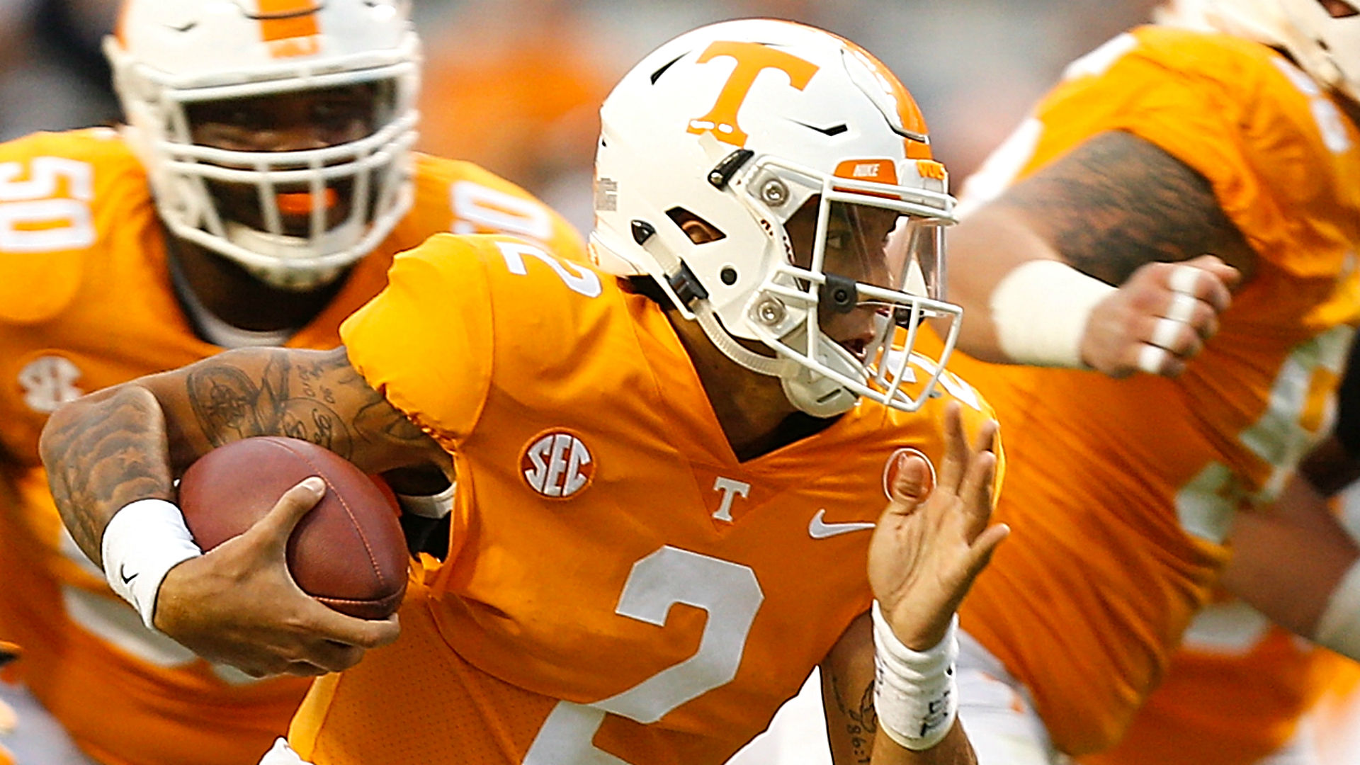 Tennessee makes QB change for SC game