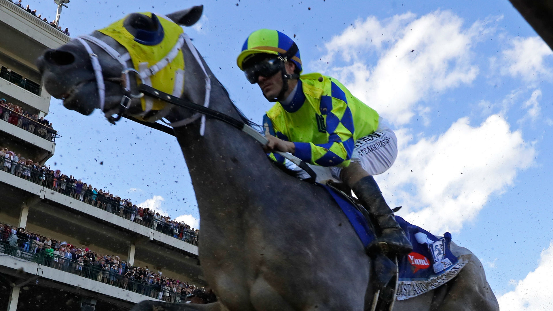 Always Dreaming third Florida Derby victor in five years to win Derby
